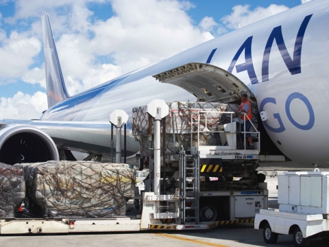 Transporte de carga via LAN